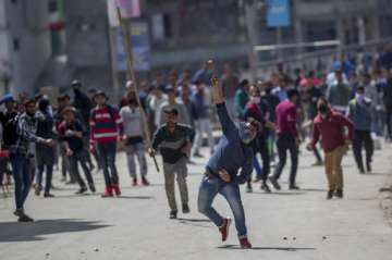 Stone pelters - File Pic