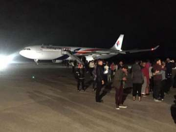 Malaysia Airlines flight turned back after...