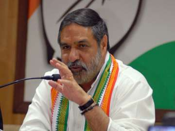 File pic of Congress leader Anand Sharma - India...