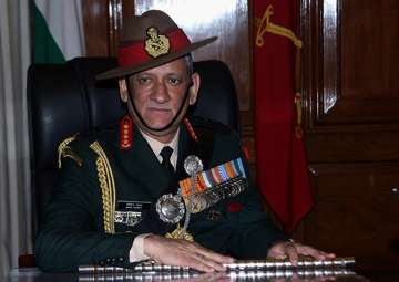 File pic of Army Chief Gen Bipin Rawat - India TV