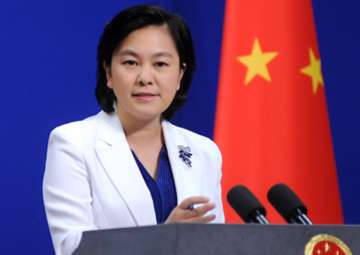 File pic of Foreign Ministry spokesperson Hua...