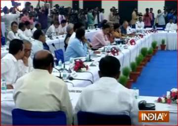 EC meeting with political parties