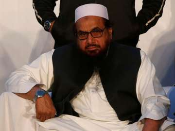 File pic of Pak-based terrorist Hafiz Saeed -...