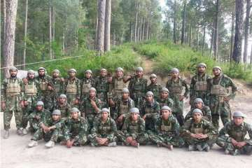 Hizbul releases photo of 'latest batch' of...