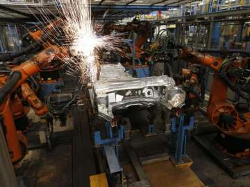 March industrial output growth cools to 2.7 pc on...
