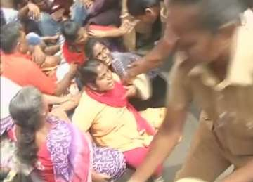 IIT-Madras students protest attack on PhD scholar...