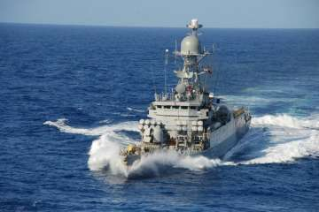Indian Navy joins flood relief operations in Sri...