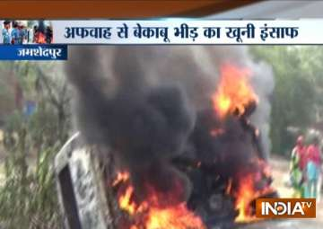 Jharkhand: Seven persons lynched on the suspicion...