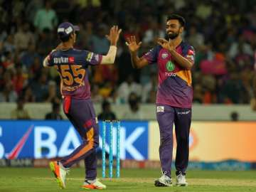 Jaydev Unadkat's hat-trick guides Pune to 12 runs...