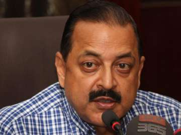 File pic of Union Minister Jitendra Singh - India...