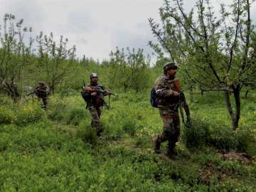 Wanted Lashker militant, cop among 5 killed in...