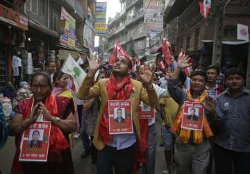 Election campaign for Nepal civic bodies elections