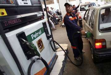 Petrol price hiked by Rs 1.23 per litre, diesel...