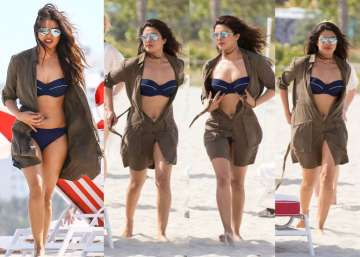 priyanka chopra miami beach pictures