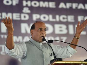 File pic of Home Minister Rajnath Singh - India TV