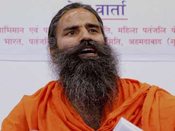 File pic of Baba Ramdev - India TV