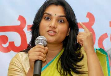 Ramya given charge of Congress social media team...