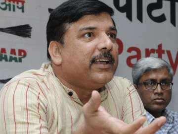 File pic of AAP leader Sanjay Singh - India TV