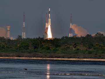 ISRO launches South Asian satellite from Satish...