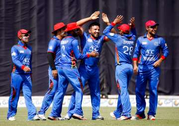 A file image of the Afghanistan team. - India TV