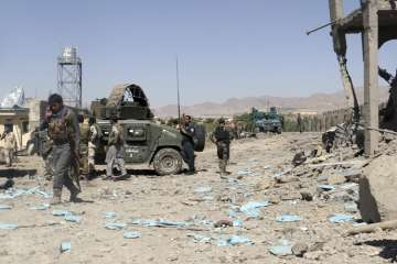 Taliban storm Afghan police compound - India TV