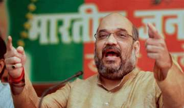Amit Shah was in Kerala as part of his nationwide...
