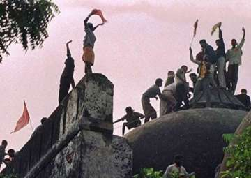 As CBI court holds Babri hearings, temple issue...