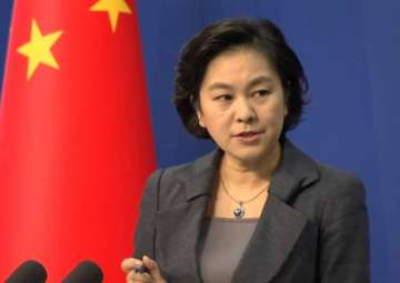 File pic of Chinese Foreign Ministry spokesperson...