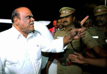 Police knew about Karnan's refuge for three days...