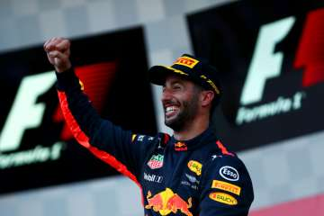 Daniel Ricciardo of Australia and Red Bull Racing...