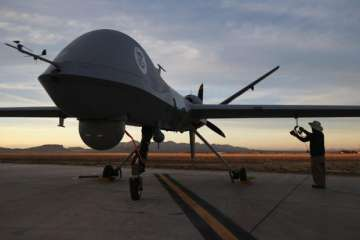 US approves sale of 22 Guardian drones to India...