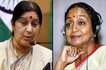 Sushma targets Meira Kumar using video of her...