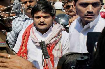 Hardik Patel detained on his way to violence-hit...