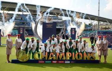 ICC Champions Trophy - Pakistan players...