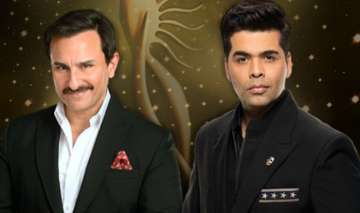 Saif Ali Khan and Karan Johar - India TV