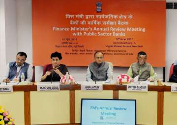Arun Jaitley chairing the Meeting of the...