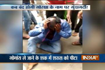 Man in Jharkhand lynched by mob for on suspicion...