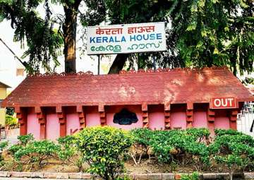 Security stepped up at Kerala House amid rumours...