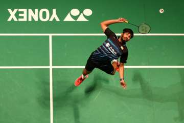 Kidambi Srikanth of India in action - India TV