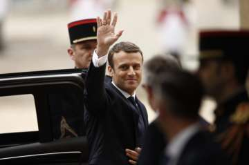 Emmanuel Macron's party on course for huge...