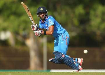 Manoj Tiwary of India in action - India TV