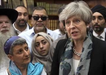 PM May condemns 'sickening' terror attack on...