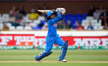 Mithali Raj hits out during the ICC Women's World...