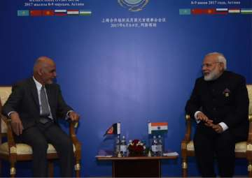 PM Modi conveys India's strong support to Afghan...