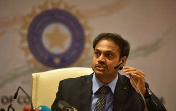 MSK Prasad - Indian team selection committee...