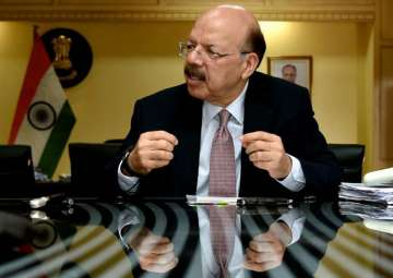 File pic of Chief Election Commissioner Nasim...