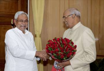 Nitish to lend support to Ram Nath Kovind's...