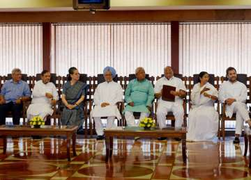 Non-NDA leaders at a luncheon hosted by Sonia...