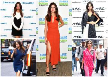Selena Gomez looked stunning in six different...