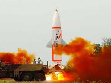Nuclear-capable Prithvi-II missile successfully...